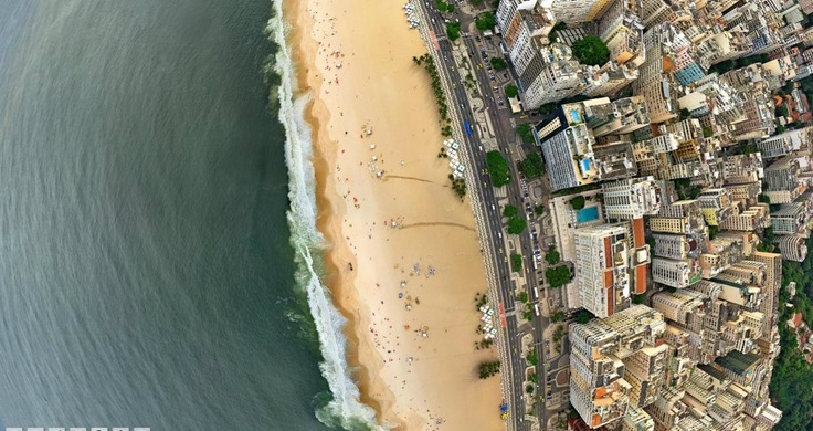 The coast of Rio de Janeiro alone has a population of 6.1 million people.