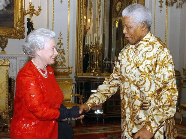 Nelson Mandela called the Queen by her first name and had no idea who Brad Pitt was - People - News - The Independent