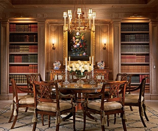 1000 images about english library on pinterest ralph for Dining room library