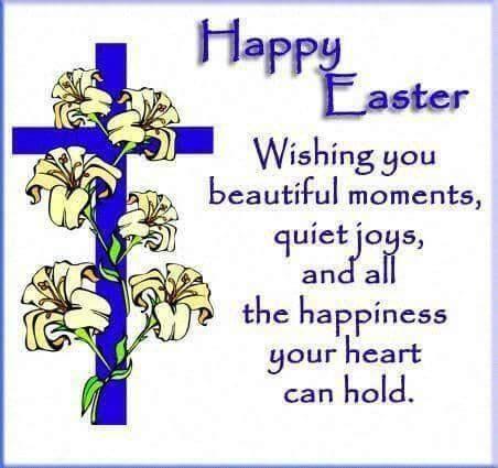 Happy Easter Wishing You Beautiful Moments