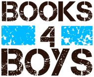 Books for Boys search by age, grade level, author, or theme.