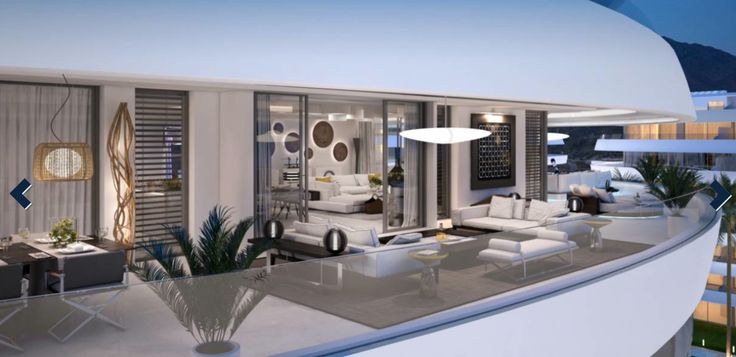 Apartamentos en el complejo residencial de lujo en la Milla de Oro, Marbella