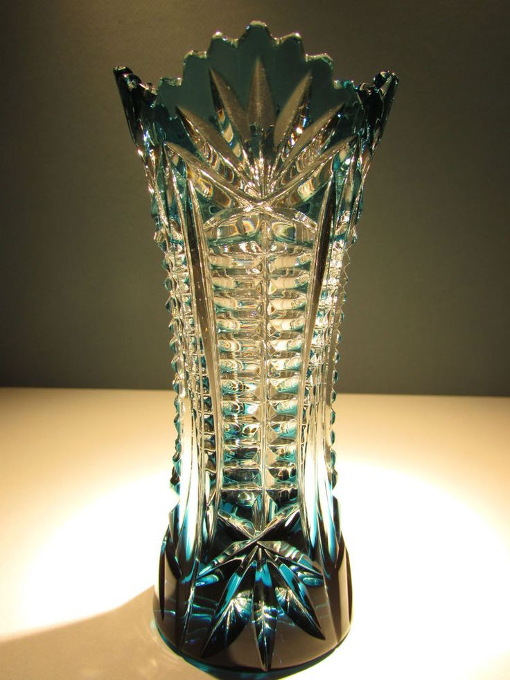 how to clean cloudy crystal vase