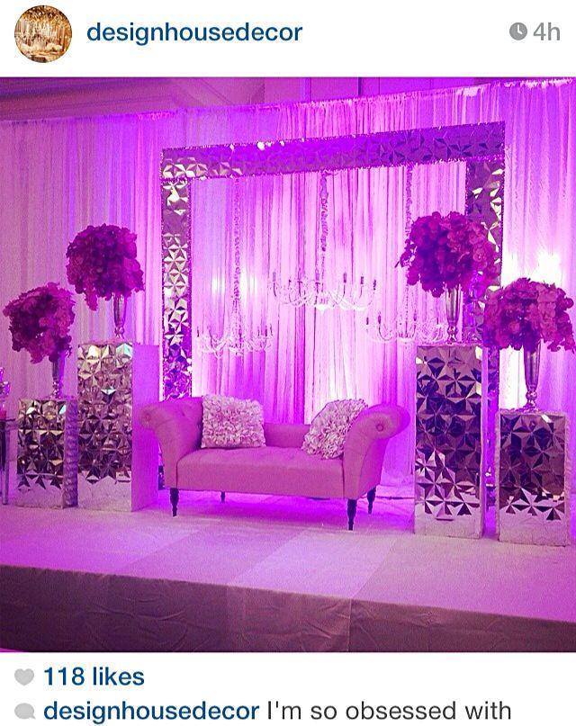 Purple lighting