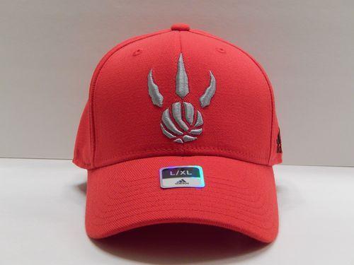 NBA Toronto Raptors Adidas Sport Curved Brim Flexfit Hat ...
