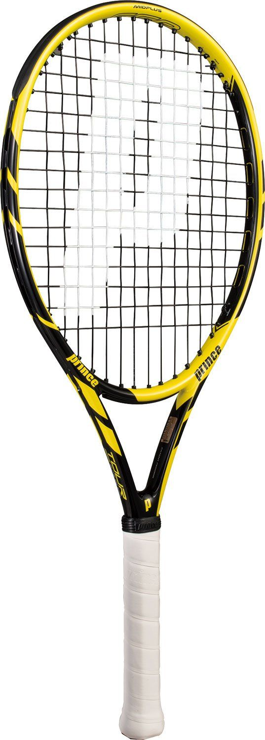 Prince Global Sports Tour Elite 26 ESP Strung Junior Tennis Racquet. Featuring ESP (Extreme Spin Pattern) which provides up to 30% more spin than a traditional tennis racquet. Longer grip to allow for two handed backhands. 100 sq in. head size, 8.3 oz., 100% graphite.