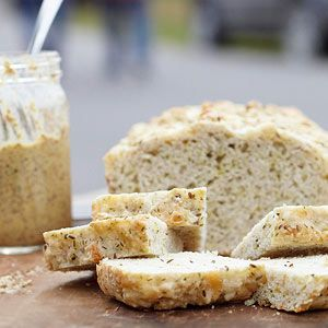 Dill and Cheese Beer Bread