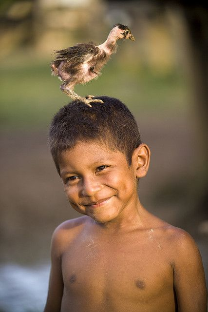 Smile from Krin Krin, Nicaragua