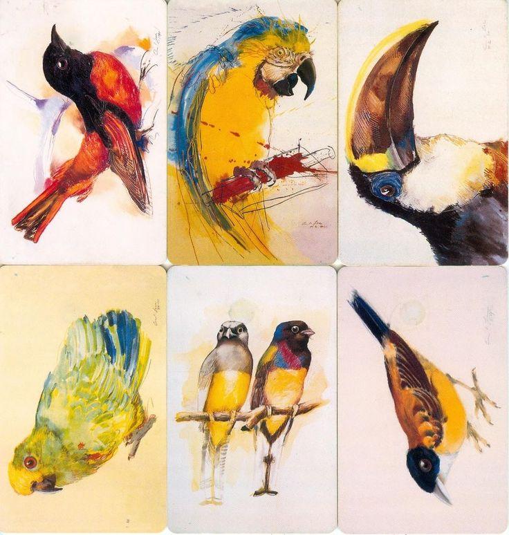 8 Phonecard / Tarjeta Telefonicas Venezuela Cantv  Aves Tropicales de Venezuela