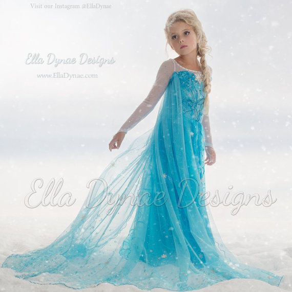 NO Halloween entrega original ella dynae costumbre Elsa traje