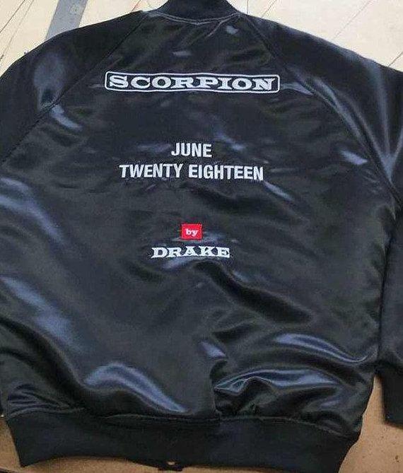 3e8bd7c2f64 Drake Scorpion June Twenty Eighteen Jacket size US Mens L $125 ...
