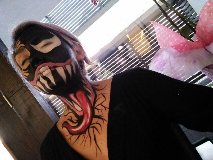Face painting o pintacaritas de Venum