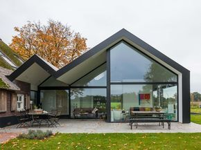 Original house extension in the Netherlands