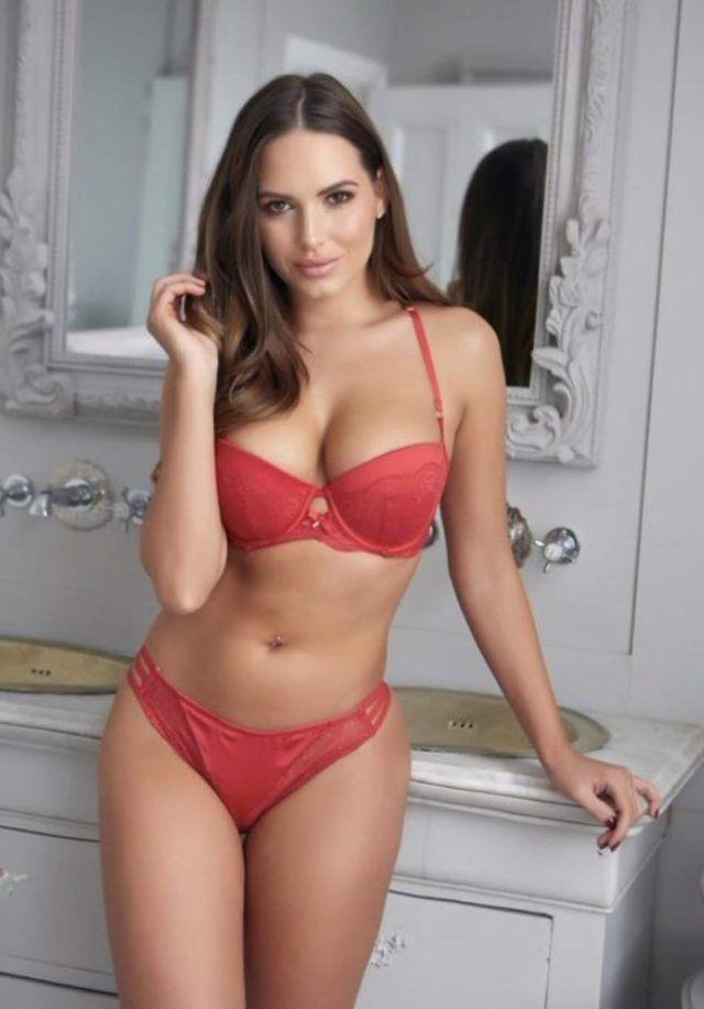 aeed7ca1e768e HotPins Lingerie Babe Sabine Jemeljanova 😍 visit us for more Bikinis,  Swimwear, Bra,