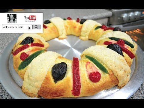 receta de rosca de reyes suave, deliciosa y facil de hacer - receta roscon angycrisjavi - YouTube