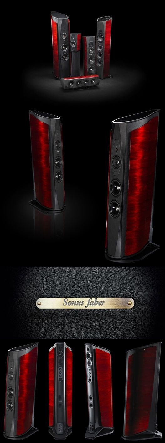 Sonus Faber Aida - latest flagship from the Italian master speaker makers