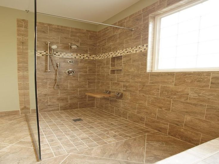 34 Best Images About Bathroom On Pinterest Traditional Bathroom Walk In Shower Designs And