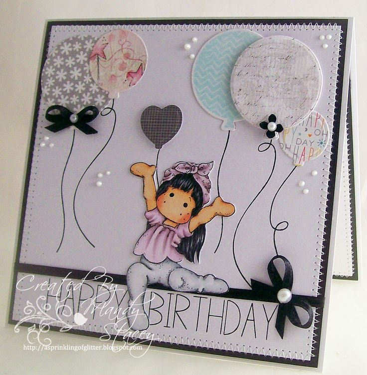 Such a fun card by Mandy using Simon Says Stamp Exclusives a long with Tilda for a Great Birthday card!