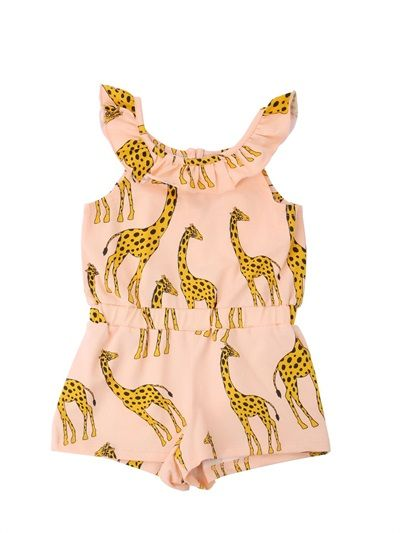 SInce my daughter will have giraffe legs like her mom...how appropo!