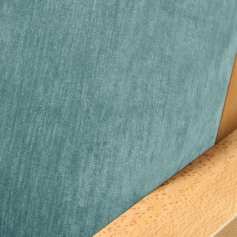 Chenille Ice Blue Futon Cover Sleepersofa