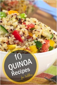 The 25 best quinoa recipe for toddler ideas on pinterest easy 10 quick delicious quinoa recipes for toddlers forumfinder Image collections