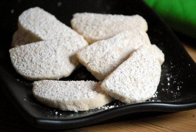 Homemade Savannah Smiles or Lemon Coolers Cookie Recipe. Learn to make Girl Scout cookies at home! Similar to wedding cookies - lemon shortbread cookie rolled in powdered sugar. Now you can make them anytime you have a craving!