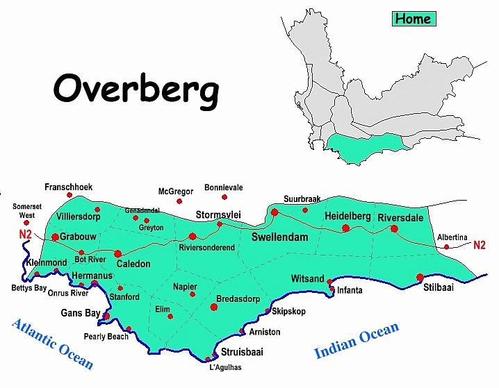 #Overberg map