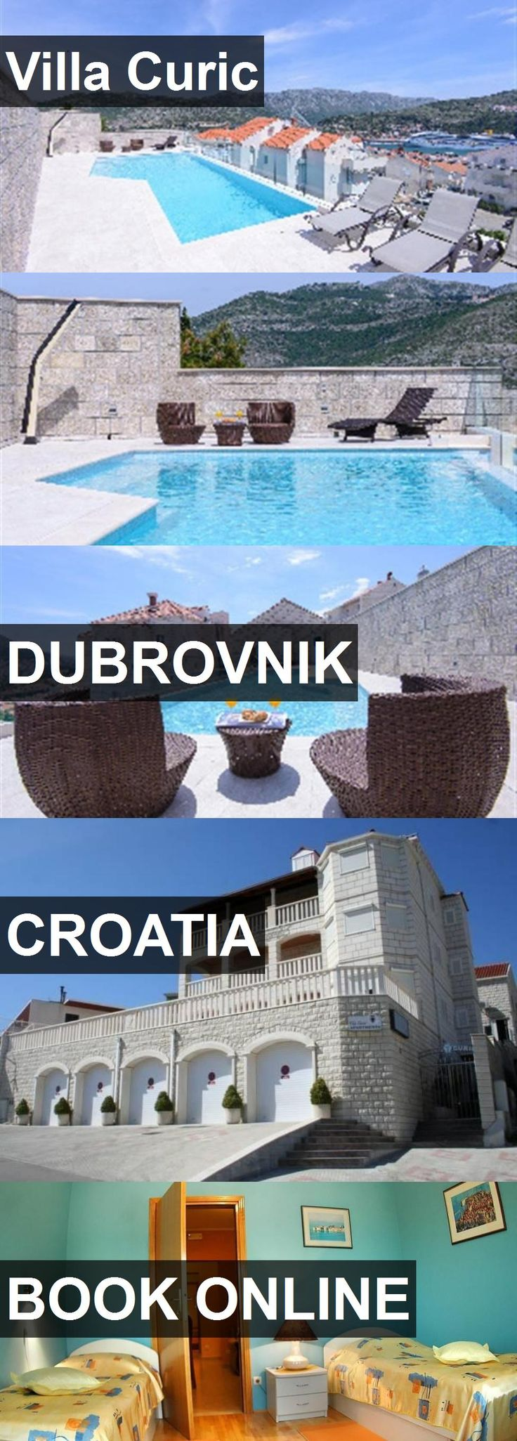Hotel Villa Curic in Dubrovnik, Croatia. For more information, photos, reviews and best prices please follow the link. #Croatia #Dubrovnik #VillaCuric #hotel #travel #vacation