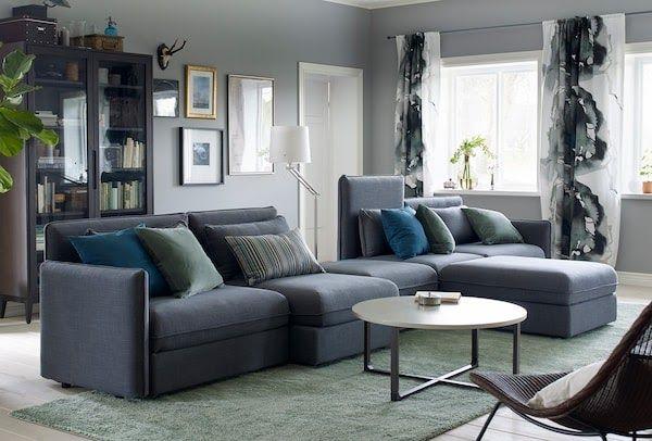 Living Room Ideas Living Room Furniture Ikea Ikea Grey Living Area Interior Design Idea Comfortable Living Room Furniture Ikea Living Room Living Room Designs