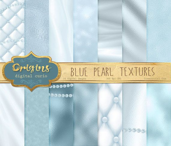Pearl digitale Blaubuch Perle Hintergründe Perle Texturen