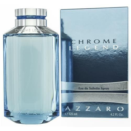 Buy authentic Azzaro Chrome Legend Eau De Toilette Spray 4.2 oz - A manly fragrance for men with fragrance notes of musk and sea spray. Free shipping.