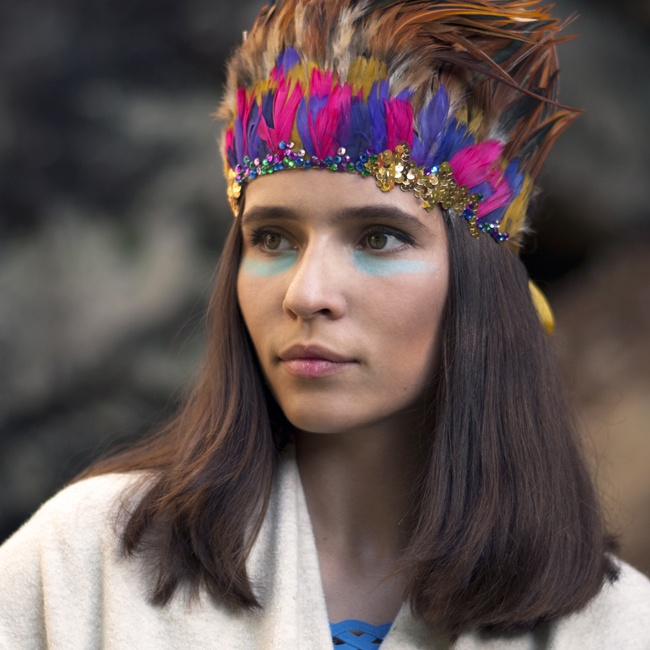 #Headband for the daughter of a chief ...