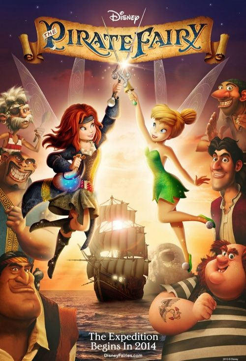 Tinker Bell And The Pirate Fairy | Stu Loves Film