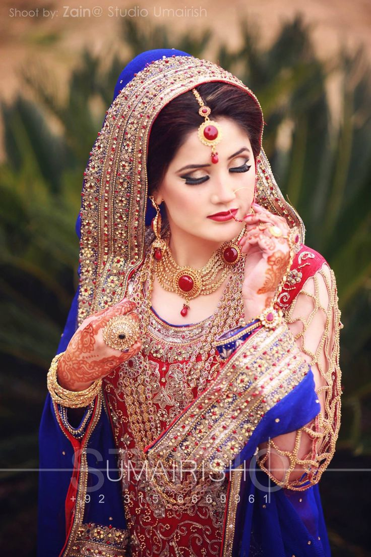 424 best ♥ Dulhan ♥ images on Pinterest | Wedding dressses, Bridal dresses and Bride