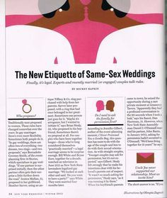 Gay Wedding Blog 14 Stories Lesbian Wedding Blog Same-Sex Wedding Blog Gay Wedding Experts Love the readings. No H8! Every human should be able to marry!
