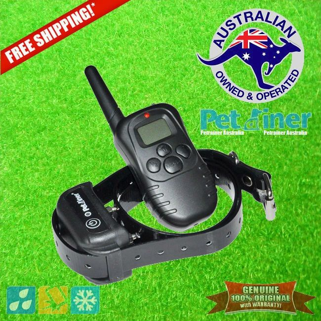 Petrainer PET-998DB E-Collar Rechargeable and Waterproof