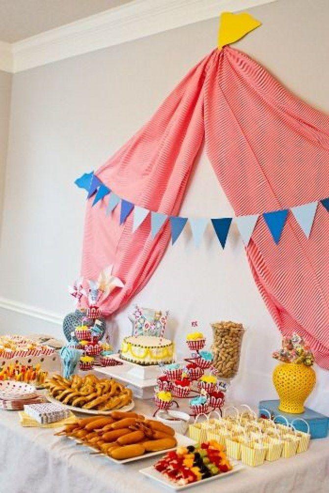 Die besten 25+ Zirkus party lebensmittel Ideen auf Pinterest