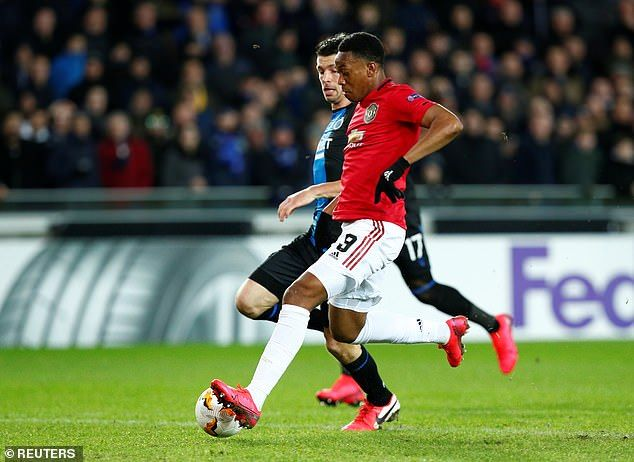 Ole Gunnar Solskjaer Convinced Anthony Martial Can Be A 20 Goal Striker For Man United Europa League Anthony Martial Football