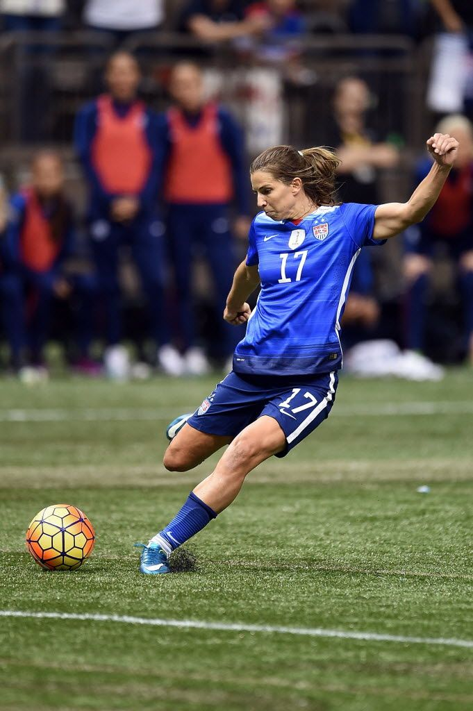 Tobin Heath vs. China, Dec. 16, 2015. (Stacy Revere/Getty Images)