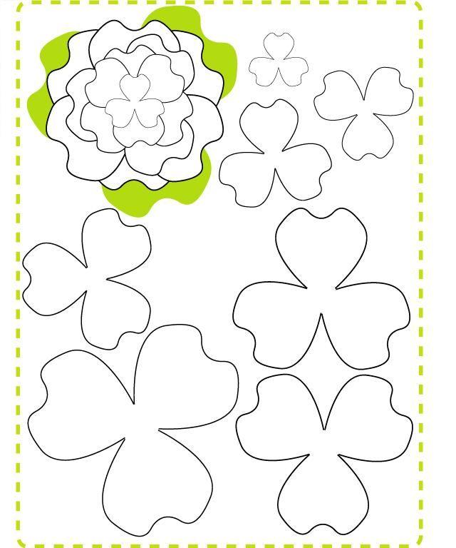 Una bonita manera de decorar un regalo sólo recortais una flor en varios tamaños y los superponéis del mayor al de menor tamaño y rematar con una perla, botón lo que os aptezca. Podéis utilizar fieltro, cartulina y atar con cuerda y rafia