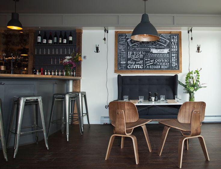 Plate Restaurant, diseñado por Tania Kratt Interiors.