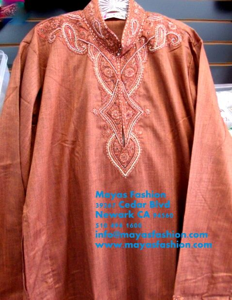 Maroon Men Kurta