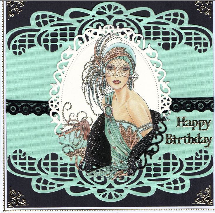 using Sue Wilson Gemini die Orion, and spellbinders floral ovals for topper art décor.