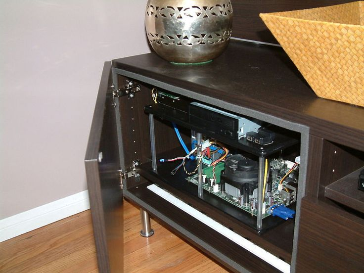 How to Build a Hidden Home Theater PC Inside Your Entertainment Center