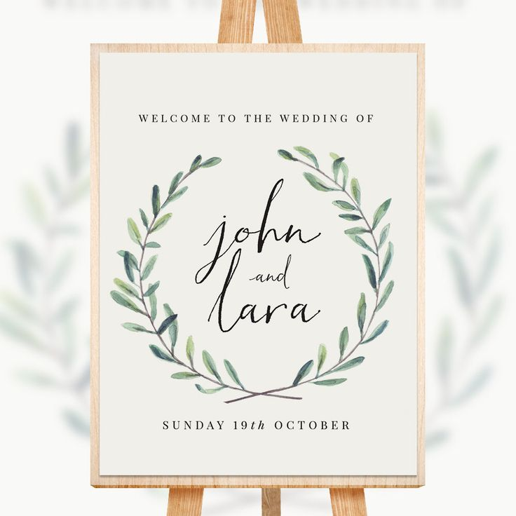Best 25+ Wedding Welcome Signs Ideas On Pinterest