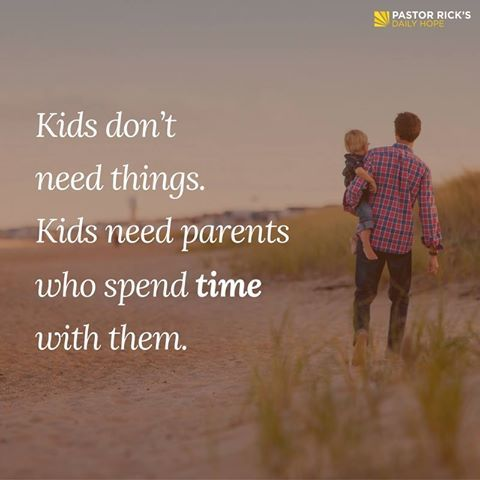 Money can't buy time spent with your kids!