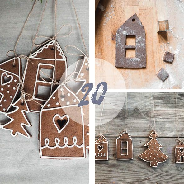 diy christmas house cookies