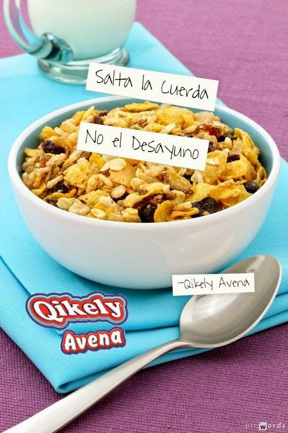 Frase Saludable ~ El Secreto de una Buena Salud #salud #avena #desayuno #Qikely #granola #food #fitness #health
