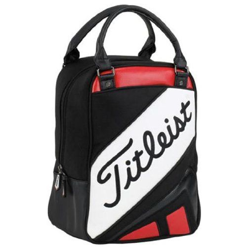 NEW! Titleist Golf Ball Shag Bag Red/Black TA3ACSB