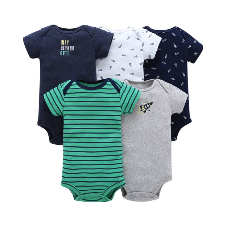 Victory! Check out my new 5-pack Animal Patterned Bodysuit for Baby Boy, snagged at a crazy discounted price with the PatPat app.